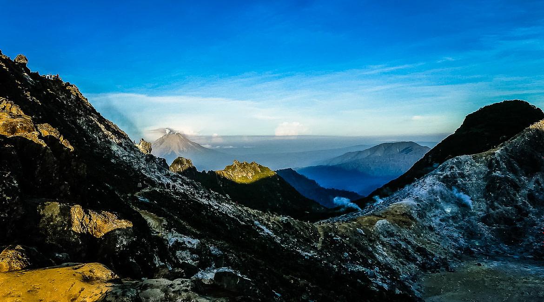 Hajnali vulkán túra Szumátra szigetén