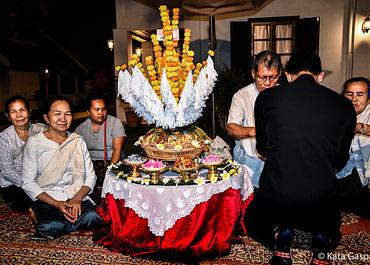 Részvétel egy Baci ceremónián Luang Prabangban