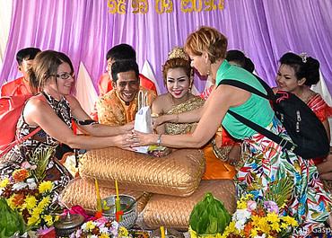 Esküvőn voltunk Kambodzsában