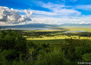 Afrika édenkertje: a Ngorongoro kráter