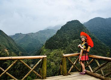 Ázsiai kultúrák – Dzay emberek, Észak-Vietnám