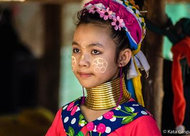 Ázsiai kultúrák – Karen emberek, Észak-Thaiföld
