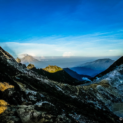 Megmásztuk a Sibayak vulkánt - Tüske Ágnes írása